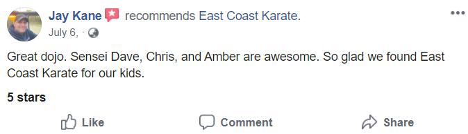 Kids1, East Coast Karate in Richmond, RI