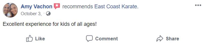 Kids3, East Coast Karate in Richmond, RI