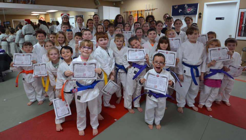 Kids Training in Martial Arts Classes in Richmond